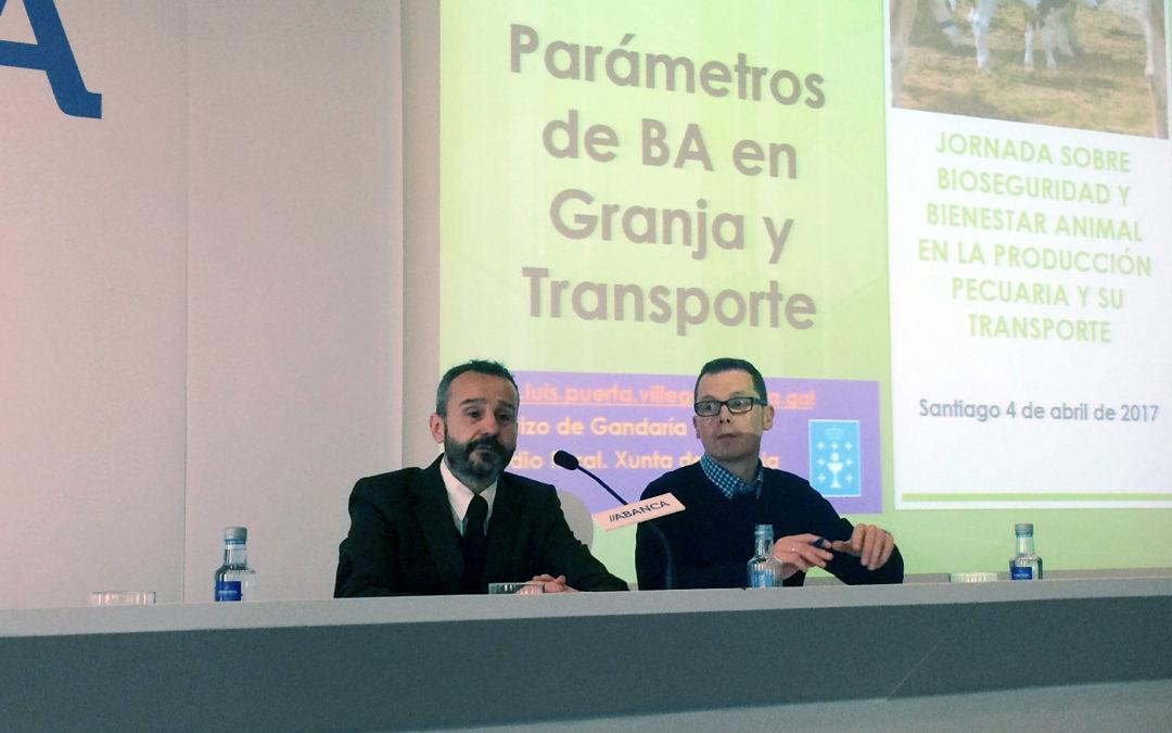 Éxito da Xornada sobre Bioseguridade e Benestar Animal na Produción Agropecuaria e o seu transporte