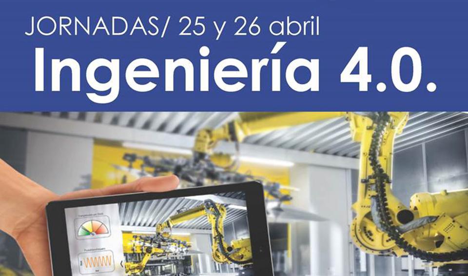 O CGES colabora na organización das Xornadas Enxeñería 4.0, que se celebrarán o 25 e 26 de abril en A Coruña, Ferrol e Vigo
