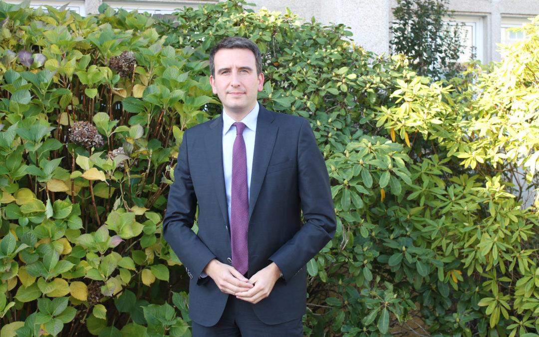 Oriol Sarmiento, novo presidente do Consello Galego de Enxeñerías