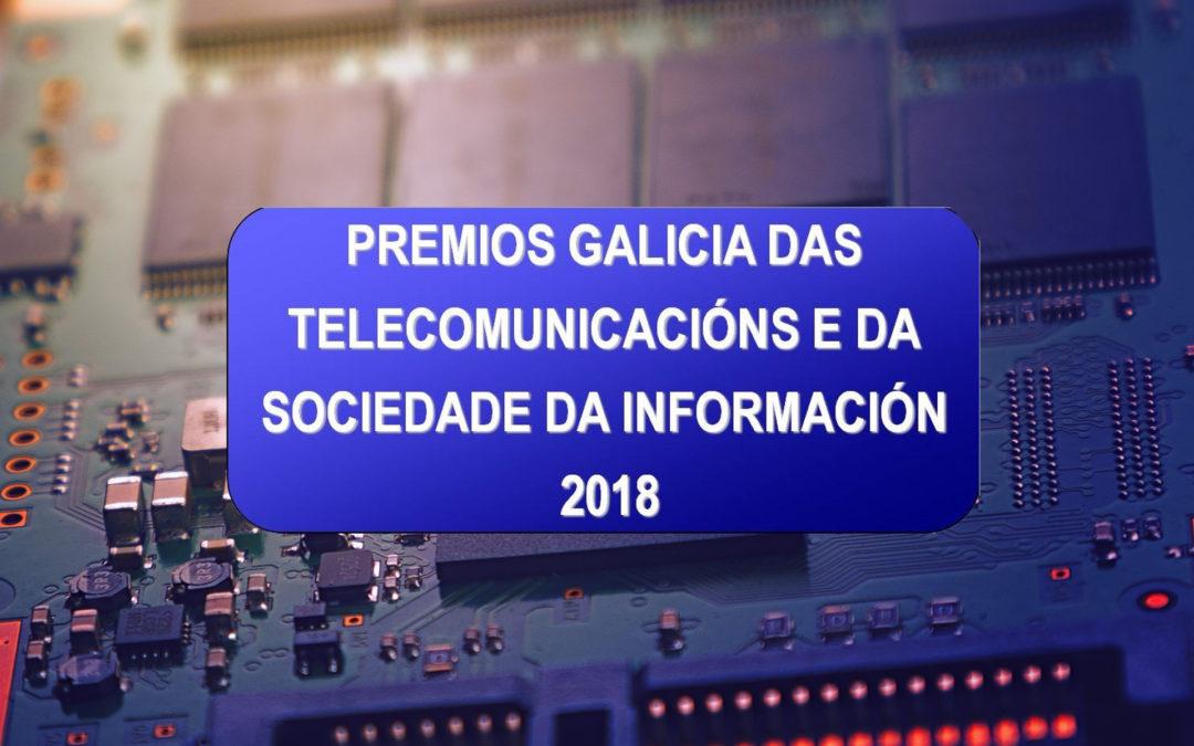 O COETG, membro do CGES, convoca os Premios Galicia das Telecomunicacións 2018