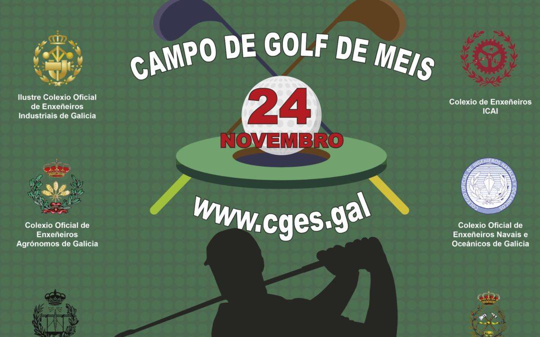 O Campionato CGES de Golf 2018 celébrase o 24 de novembro en Meis