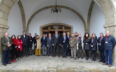 Una delegación del Consello Galego de Enxeñerías (CGES) visita Ferrol
