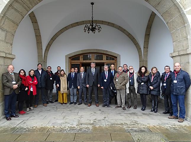 Unha delegación do Consello Galego de Enxeñerías CGES visita Ferrol