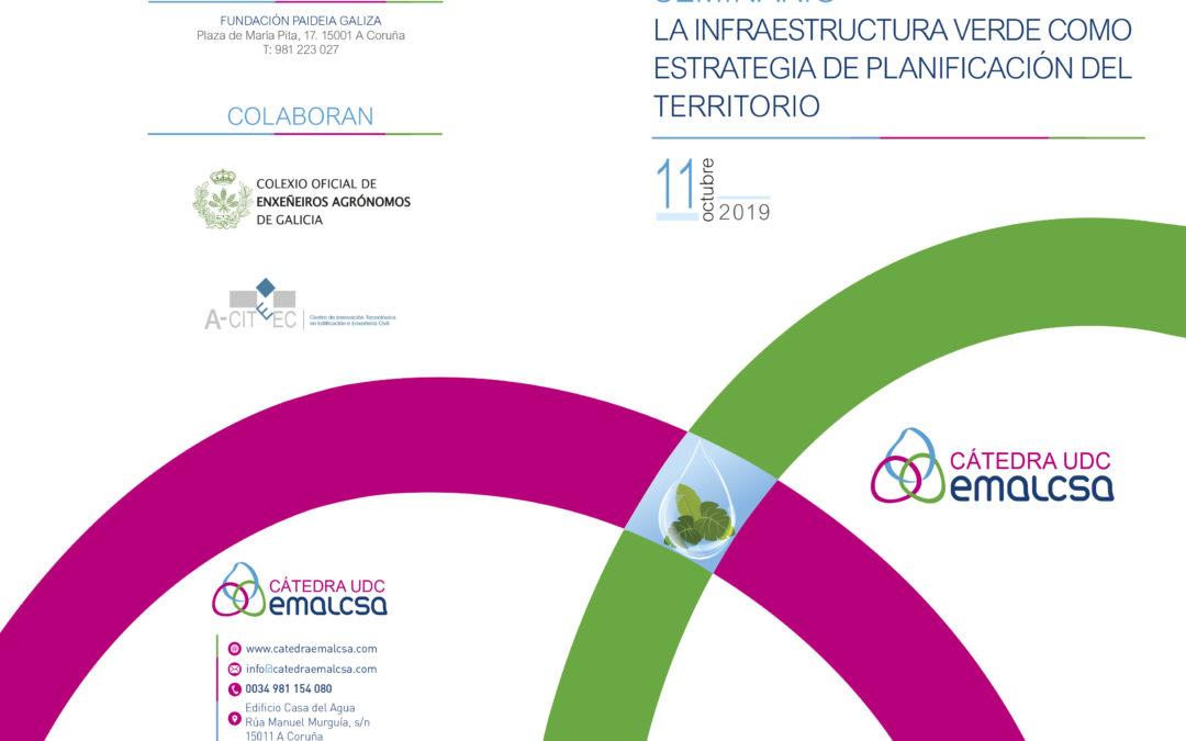 A Fundación Paideia acolle mañá as xornadas 'A infraestrutura verde como estratexia de planificación do territorio'