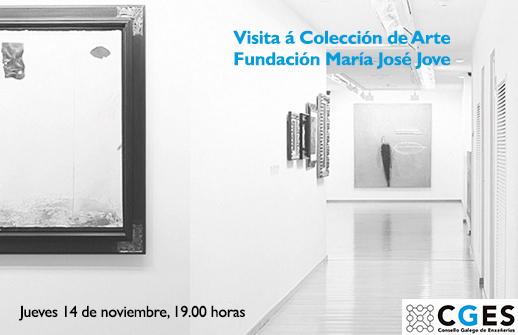 Visita guiada á Colección de arte da Fundación María José Jove