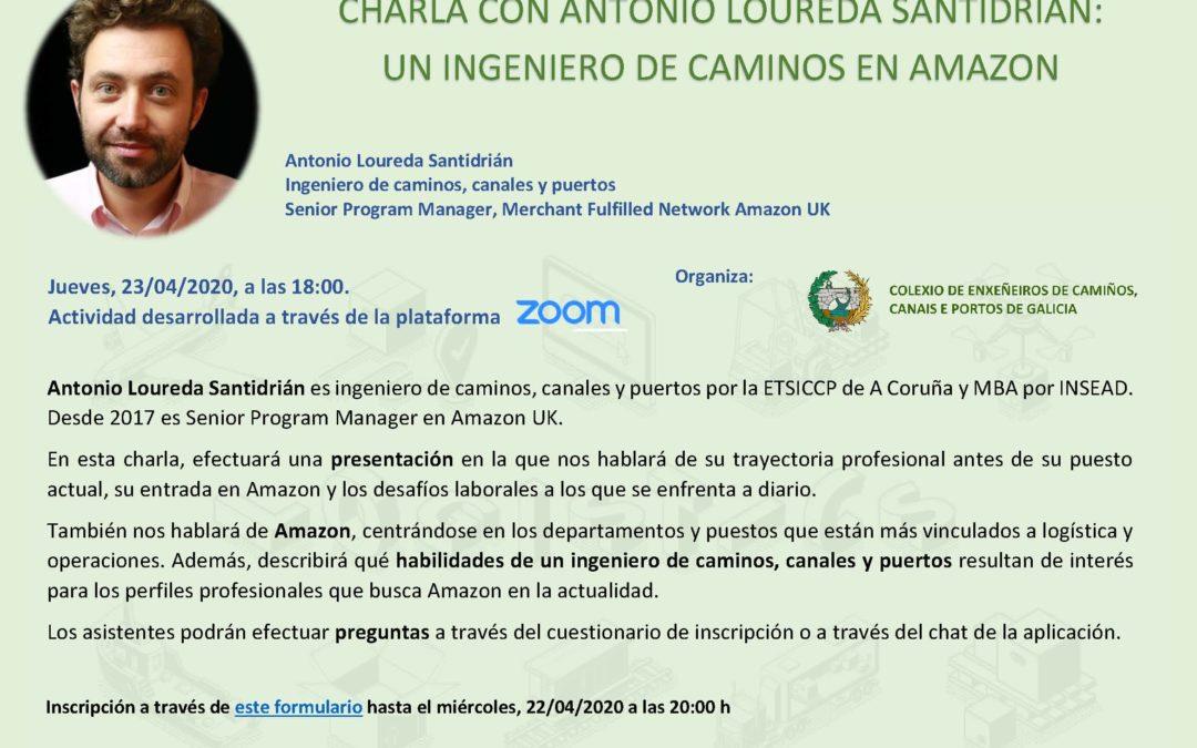 O CICCP de Galicia inicia un ciclo de conferencias en liña sobre enxeñeiros de camiños que traballan en sectores non tradicionais