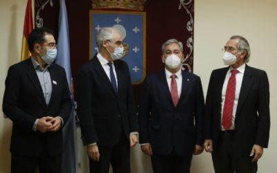 O Consello Galego de Enxeñerías traslada ao vicepresidente da Xunta de Galicia unha batería de propostas para impulsar a recuperación económica da comunidade