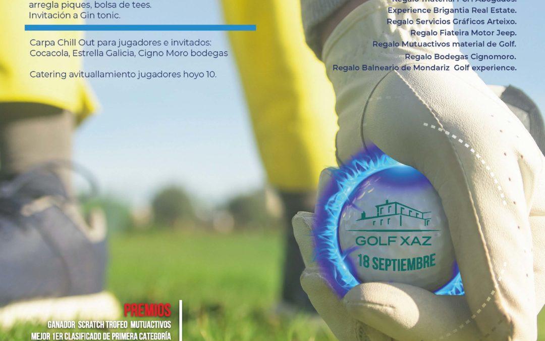O II Campionato CGES de Golf 2021 celebrarase o 18 de setembro en Oleiros