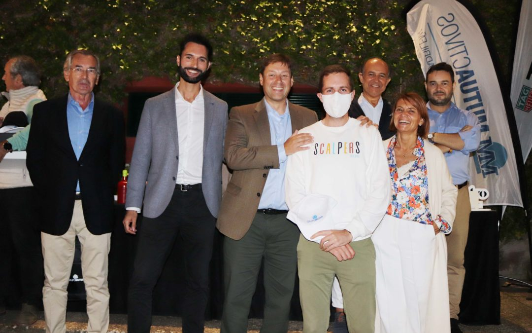 Jacobo López Malo gana o II Torneo CGES de Golf, disputado no Club Xaz de Oleiros